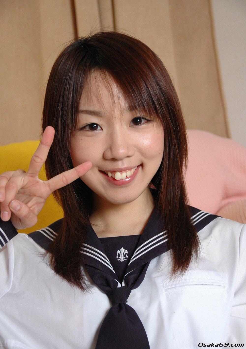 Asian school girl creampie