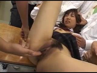 Osaka69 Cute (女子校生)schoolgirl Bukkake Gangbang 2