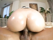 Oiled Up Sex with Big Ass Asian 2