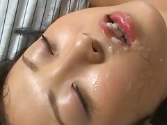 Japanese Student Used by Two Guys 4