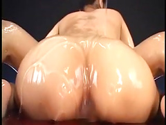Busty Av Idol Sora Aoi Oiled Up Titfuck 2