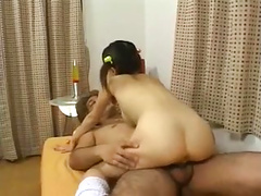 Cute Japanese Teen in Pigtails Creampied 2