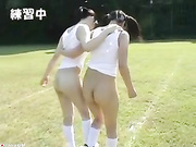 Japanese Teens Shaved Pussy Summer Camp 2