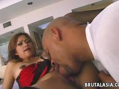 Japanese schoolgirl porn with Riku Shiina uncensored video